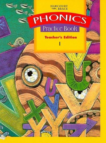 9780153090264: Phonics Practice Book Teacher's Edition 1