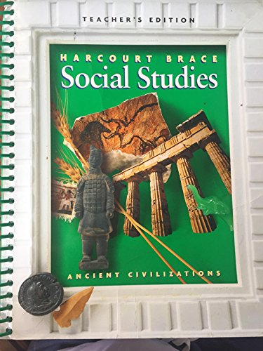9780153097997: Harcourt Brace Social Studies Ancient Civilizations Teacher's Edition