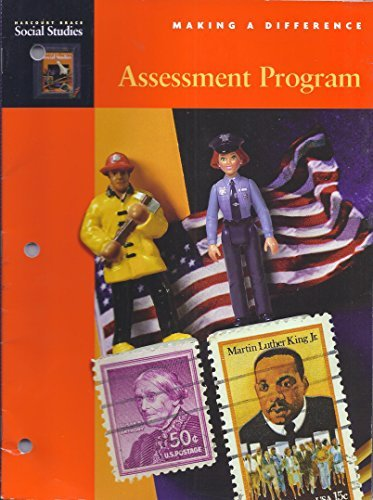 9780153102981: Assessment Program Grade 2 (Harcourt Brace Social Studies, Making a Difference)
