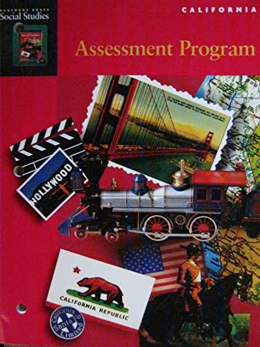 9780153103001: Assessment Program (Harcourt Brace Social Studies: California)