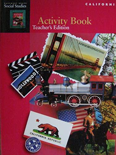 9780153103117: Activity Book, Teacher's Edition (Harcourt Brace Social Studies California)