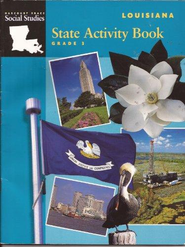 9780153104749: Louisiana State Activity Book Grade 3 Harcourt Brace Social Studies