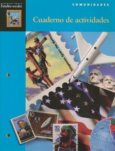 9780153105388: Harcourt Brace Estudios Sociales Comunidades Cuaderno de Actividades