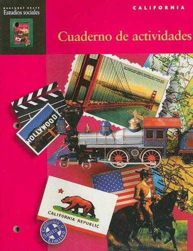 9780153105395: Harcourt School Publishers Estudios Sociales: Student Edition Activity Book Spanish Social Studies Grade 4 (Spanish Edition)