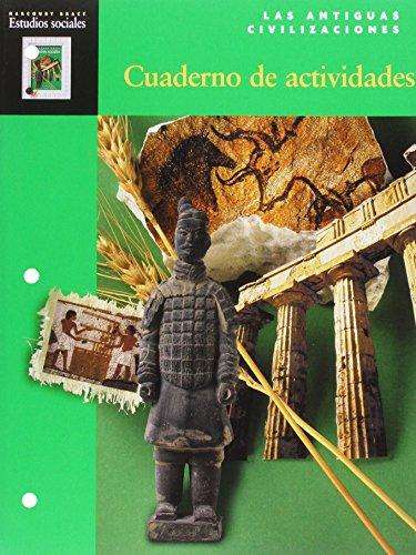 9780153105425: Harcourt School Publishers Estudios Sociales: Student Edition Activity Book Spanish Social Studies Grade 6