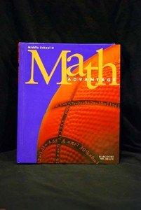 9780153106989: Harcourt Brace, Middle School, Preparation for algebra: Math Advantage