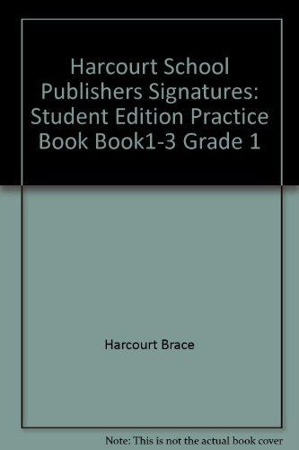 9780153108204: Signatures Practice Book: Level 1-3