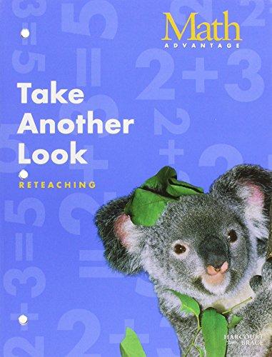 9780153110597: Take Another Look Math Advantage Reteaching Workbook - Grade 1