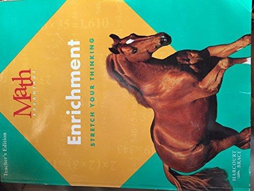 9780153110900: Enrichment - Stretch Your Thinking (Math Advantage, Grade 4)