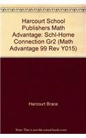 Harcourt School Publishers Math Advantage: Schl-Home Connection: HARCOURT SCHOOL PUBLISHERS