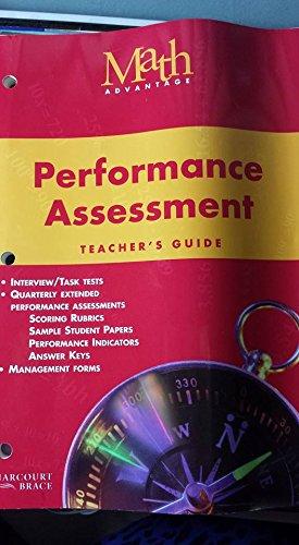 9780153111839: Math Advantage, Grade 6 : Performance Assessment: Teacher's Guide