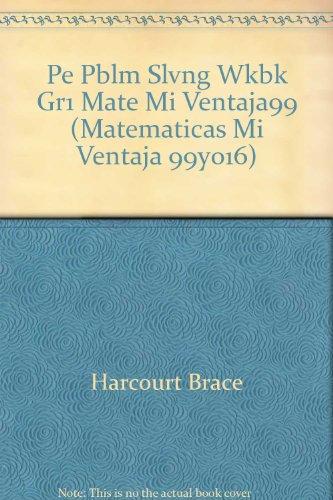 Mate Mi Venta, Grade 1 Problem Solving: Corporate Author-Hb