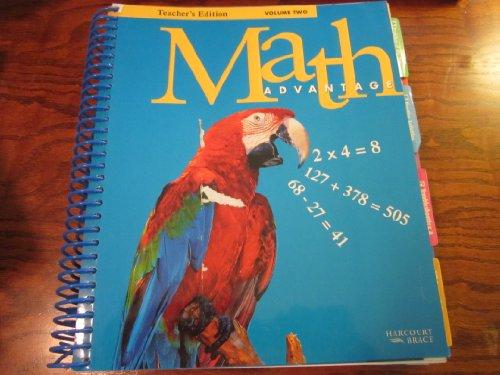 Teacher's Edition Volume Two Math Advantage Grade 3: Grace M Burton