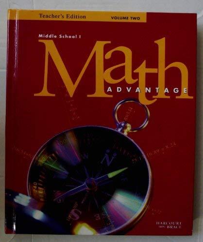 Math Advantage: Middle School 1, Teacher's Edition,