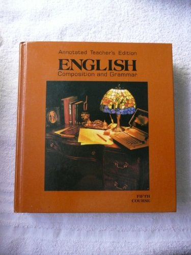 English Composition & Grammar: Grade 11 (0153117427) by Warriner, John E.
