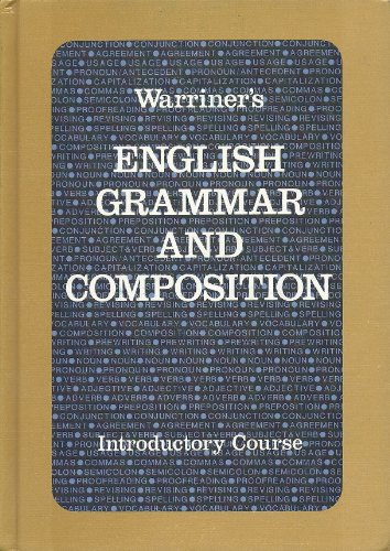 9780153117800: English Grammar and Composition: Introductory Course (Liberty Edition)