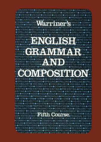 9780153118043: Warriner's English Grammar and Composition: Course 5-Liberty Edition