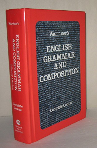 English Grammar & Composition: Grade 12 (0153118059) by John E. Warriner