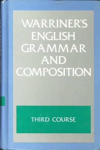 9780153118821: Warriner's English Grammar & Composition: Third Course Grade Nine