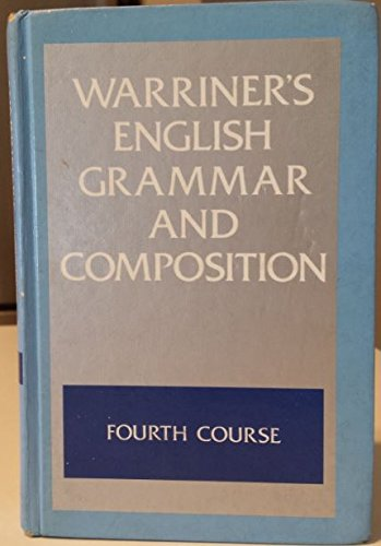 9780153118838: English Grammar and Composition: Fourth Course Grade 10