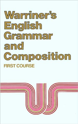 9780153119002: English Grammar and Composition: First Course Grade 7