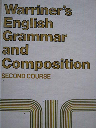 9780153119019: English Grammar and Composition: Second Course Grade 8