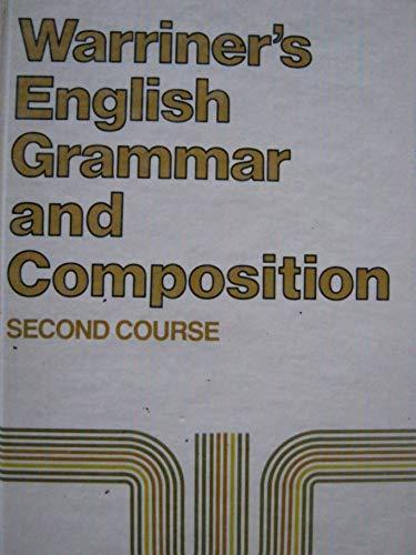 9780153119019: English Grammar and Composition: Second Course Grade 8