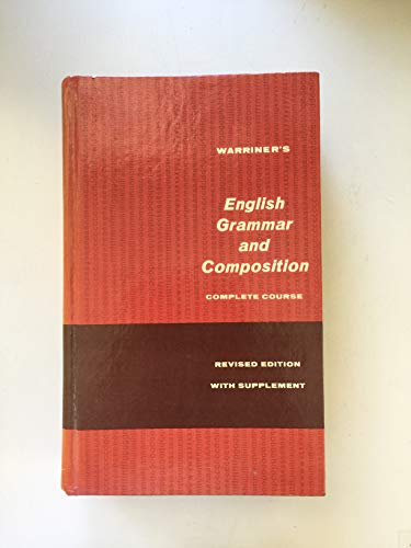 9780153120008: English Grammar and Composition: Complete Course