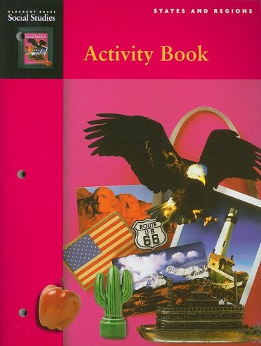 9780153121241: Harcourt School Publishers Social Studies: Student Edition Activity Book Grade 4 States & Regions