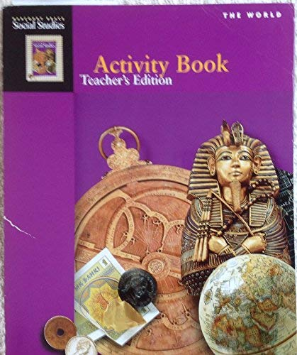 9780153121302: The World Activity Book Teacher's Edition (Harcourt Brace Social Studies)