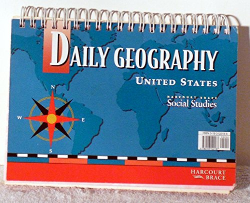 9780153122187: Daily Geography United States