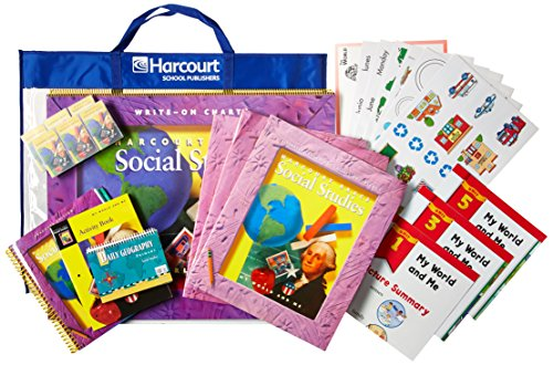 9780153126253: Harcourt School Publishers Social Studies: My World & Me Kindergarten Kit (Social Studies 00 Y020)