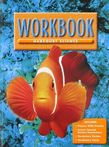 9780153131783: Harcourt Science, Level 1 Workbook