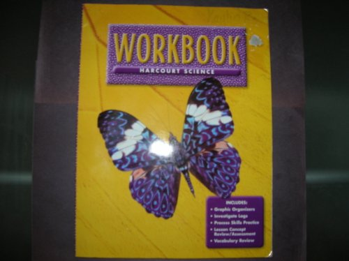 9780153131806: Harcourt School Publishers Science: Workbook Grade 3