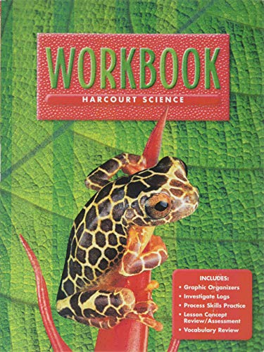9780153131820: Harcourt School Publishers Science: Workbook Grade 5