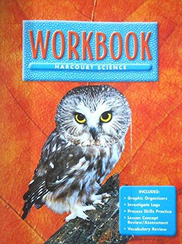 9780153131837: Harcourt School Publishers Science: Workbook Grade 6