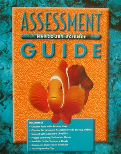 9780153131844: Harcourt Science Assessment Guide Grade 1