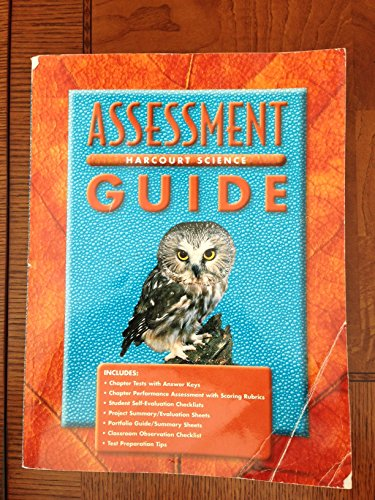 9780153131905: Science Assessment Guide (Grade 6 Harcourt)