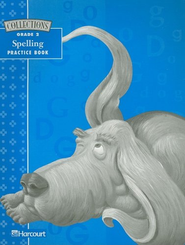 9780153133459: Collections: Grade 2, Spelling Practice Book