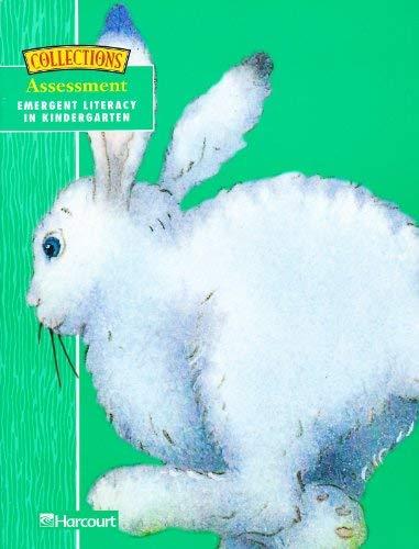 9780153134296: Assessment: Emergent Literacy in Kindergarten (Teacher's Edition Grade K)