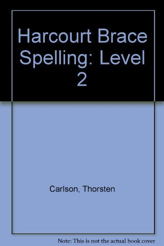 9780153136443: Harcourt Brace Spelling: Level 2
