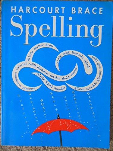 9780153136542: Harcourt Brace Spelling, Level 5