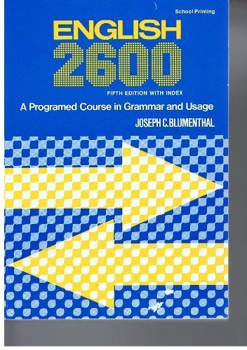 9780153143342: English 2600 Fifth Edition with Index
