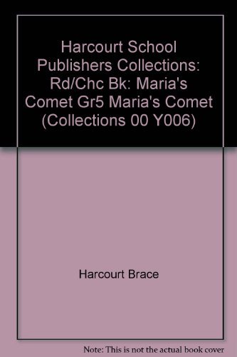 9780153143991: Maria's Comet
