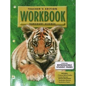 9780153149726: Harcourt Science, Teacher's Edition Workbook
