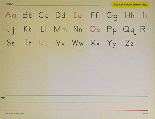 9780153150067: Trophies © 2007: Write-on/Wipe-off Board with Phonemic Awareness Disks: Grade K Manuscript Handwriting Models
