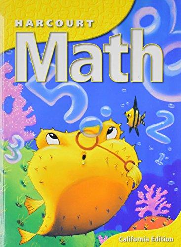 9780153155123: Harcourt School Publishers Math California: Student Edition Grade 2 2002