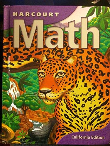 9780153155178: Harcourt Math (California Edition, Level 6)
