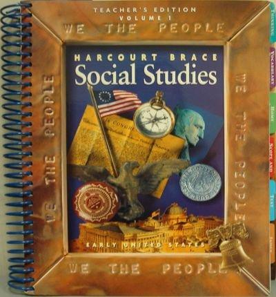 9780153159961: Harcourt Brace Social Studies We the People ,Teacher's Edition, Vol.1