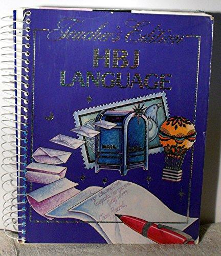 9780153164231: HBJ Language (Integrating the language Processes)